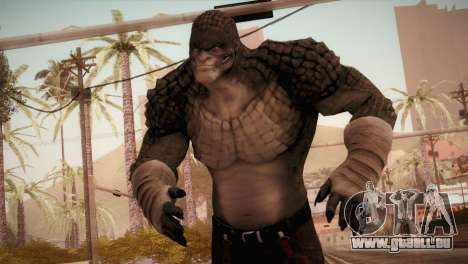 Killer Croc (Batman Arkham Origins) pour GTA San Andreas