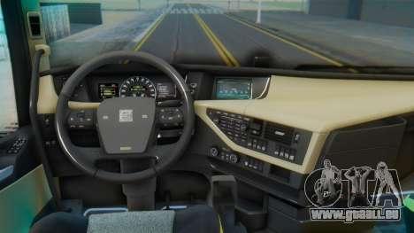 Volvo FH Euro 6 Heavy 8x4 pour GTA San Andreas vue de droite
