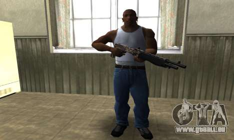 Brown Combat Shotgun für GTA San Andreas dritten Screenshot