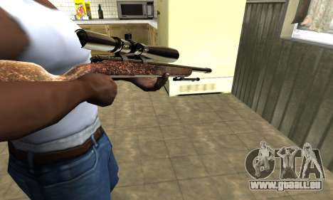 Gold Sniper Rifle für GTA San Andreas