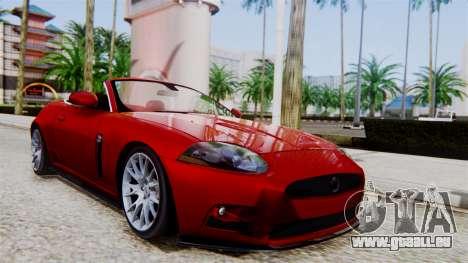 Jaguar XKR-S 2011 Cabrio für GTA San Andreas