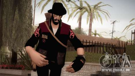 Christian Brutal Sniper from TF2 pour GTA San Andreas