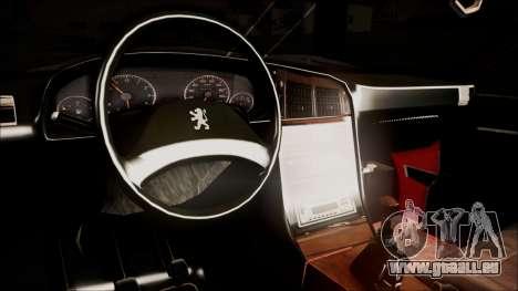 Peugeot Pars The Best Full Sport v1 pour GTA San Andreas vue de droite