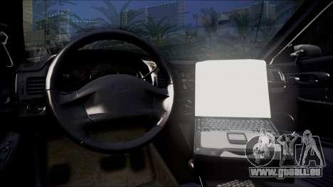 Chevrolet Impala FBI Slicktop pour GTA San Andreas vue de droite