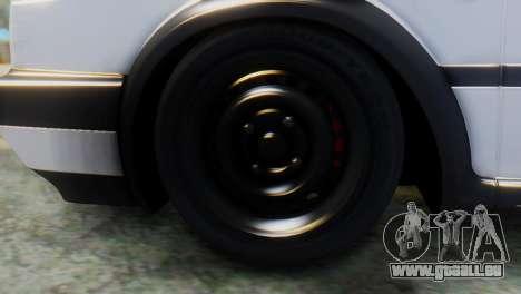 Volkswagen Golf 2 für GTA San Andreas zurück linke Ansicht
