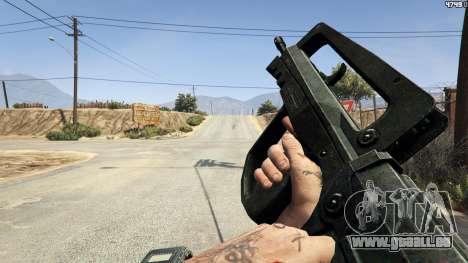 GTA 5 Famas F1 sechster Screenshot