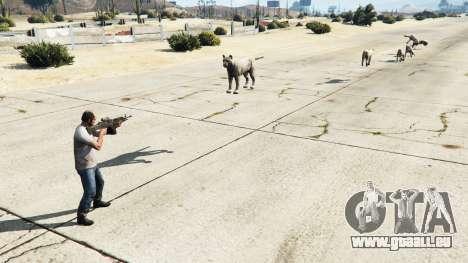 GTA 5 Animal Cannon v1.1 troisième capture d'écran