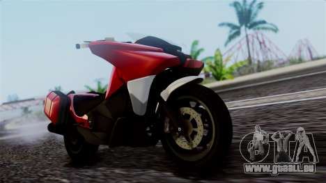 Dinka Vindicator SA Plate pour GTA San Andreas