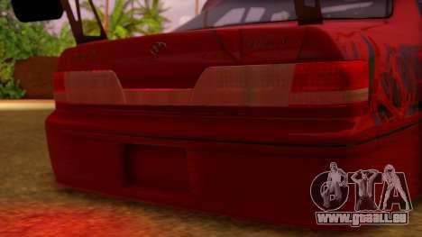 Toyota Mark 2 100 für GTA San Andreas Innenansicht