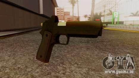 Heavy Pistol GTA 5 pour GTA San Andreas