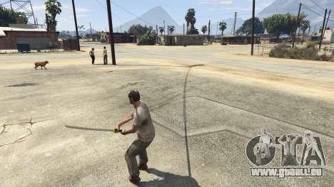 GTA 5 Katana v2.0 vierten Screenshot