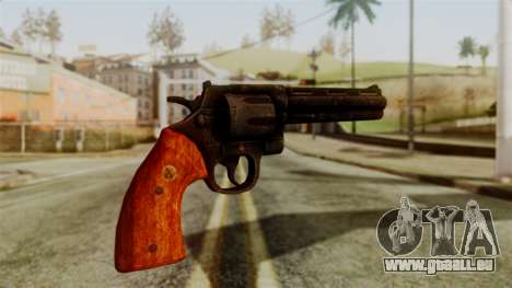 Colt Revolver from Silent Hill Downpour v2 für GTA San Andreas zweiten Screenshot