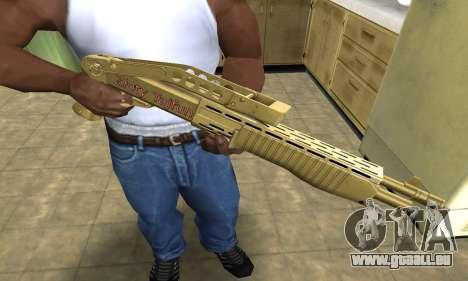 Zloty Tajfun Combat Shotgun pour GTA San Andreas