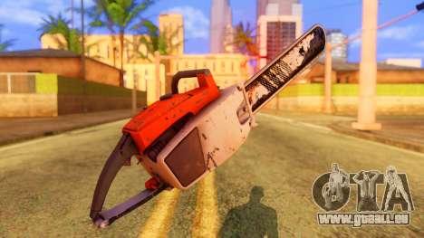 Atmosphere Chainsaw pour GTA San Andreas deuxième écran