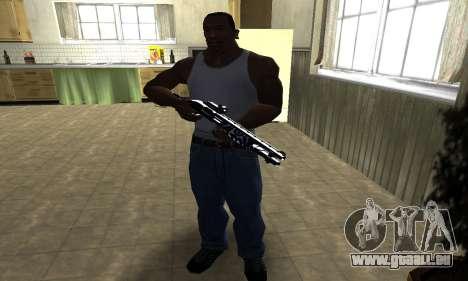 Oval Shotgun pour GTA San Andreas troisième écran