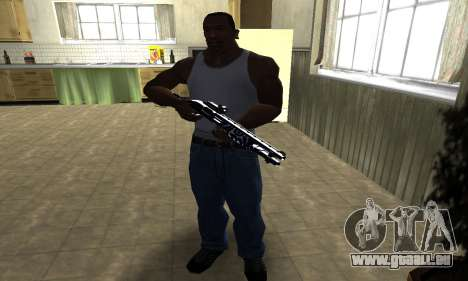 Oval Shotgun für GTA San Andreas dritten Screenshot