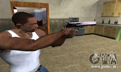 Purple Deagle pour GTA San Andreas deuxième écran