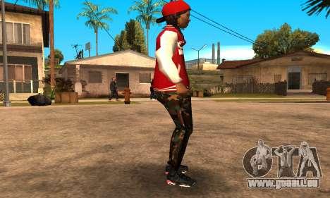 Army Girl pour GTA San Andreas deuxième écran