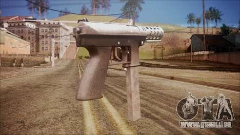 TEC-9 v1 from Battlefield Hardline für GTA San Andreas zweiten Screenshot