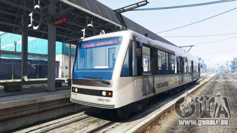 Neue Texturen Straßenbahnen für GTA 5