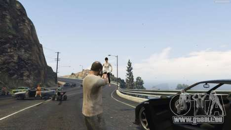 GTA 5 Gravity Gun 1.5 fünfter Screenshot