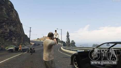 GTA 5 Gravity Gun 1.5 cinquième capture d'écran