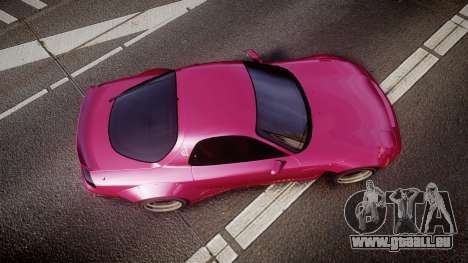 Mazda RX-7 RocketBunny [EPM] pour GTA 4 est un droit