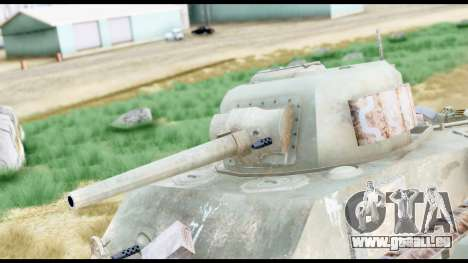 M4 Sherman 75mm Gun Urban pour GTA San Andreas vue de droite