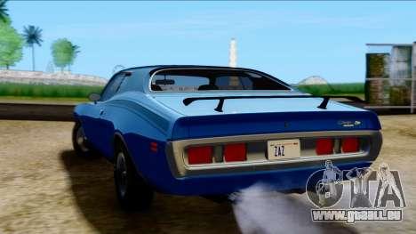 Dodge Charger Super Bee 426 Hemi (WS23) 1971 PJ für GTA San Andreas linke Ansicht