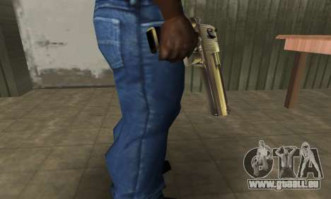 Full of Gold Deagle pour GTA San Andreas deuxième écran