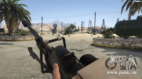 GTA 5 Halo UNSC: Sniper Rifle vierten Screenshot