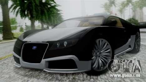 Truffade Adder Hyper Sport für GTA San Andreas