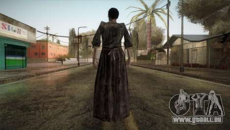 RE4 Maria without Kerchief für GTA San Andreas dritten Screenshot