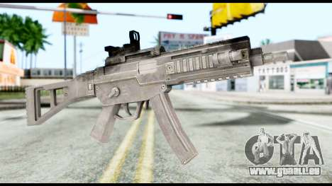MP5 from Resident Evil 6 für GTA San Andreas