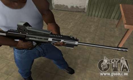 Brown AUG für GTA San Andreas zweiten Screenshot