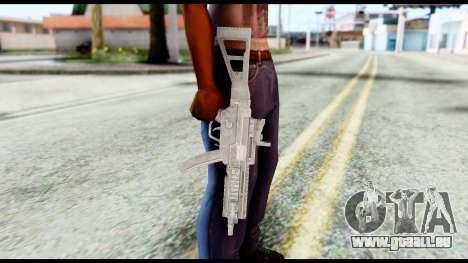MP5 from Resident Evil 6 für GTA San Andreas dritten Screenshot