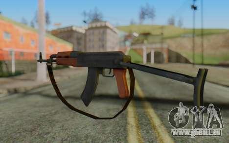 AK-47S with Strap für GTA San Andreas zweiten Screenshot