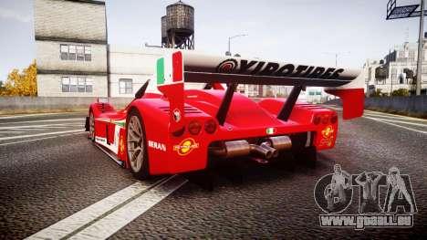 Radical SR8 RX 2011 [6] für GTA 4 hinten links Ansicht