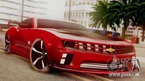 Chevrolet Camaro SS für GTA San Andreas