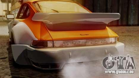 Porsche 911 Turbo (930) 1985 Kit C PJ für GTA San Andreas