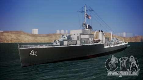 Type 34 Destroyer für GTA San Andreas