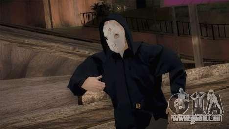 Söldner-mafia in der Kapuze und Maske für GTA San Andreas