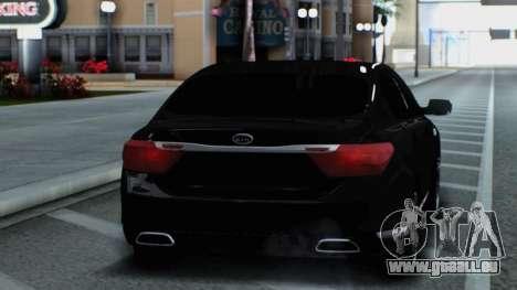 Kia Quoris pour GTA San Andreas vue de droite