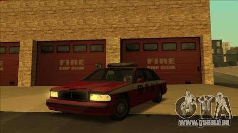 FDSA Premier Cruiser pour GTA San Andreas sur la vue arrière gauche