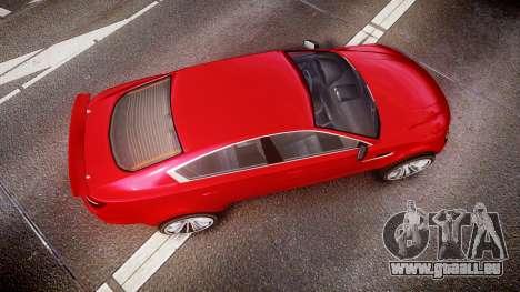 GTA V Ocelot Jackal liberty city plates für GTA 4 rechte Ansicht