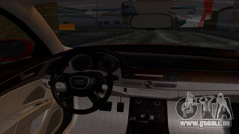 Audi A8 Turkish Edition für GTA San Andreas rechten Ansicht