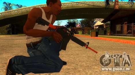 M4A1 Nitro pour GTA San Andreas