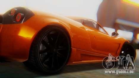 GTA 5 Pegassi Osiris SA Style pour GTA San Andreas vue de droite