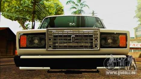 VAZ 2107 E-Design pour GTA San Andreas vue de droite