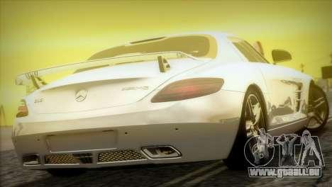 Mercedes-Benz SLS AMG 2013 für GTA San Andreas Seitenansicht